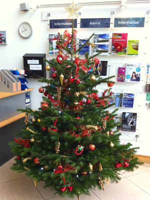 Office Christmas Tree Hire in Slough